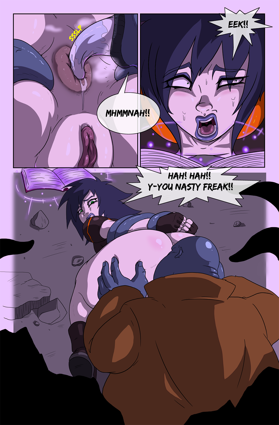Ghostbusters Extreme Para-Porno porn comics Oral sex, Anal Sex, Blowjob, Creampie, cunnilingus, Double Penetration, Rape, Sex and Magic, Straight, Tentacles, X-Ray