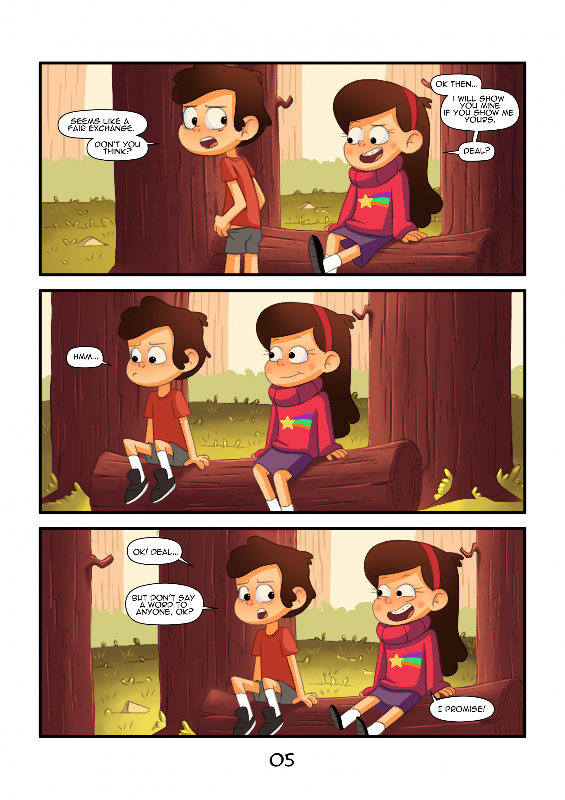 Gravity Falls - Secret Of The Woods porn comics Anal Sex, Best, Creampie, cunnilingus, incest, Lolicon, Oral sex, Straight, Straight Shota