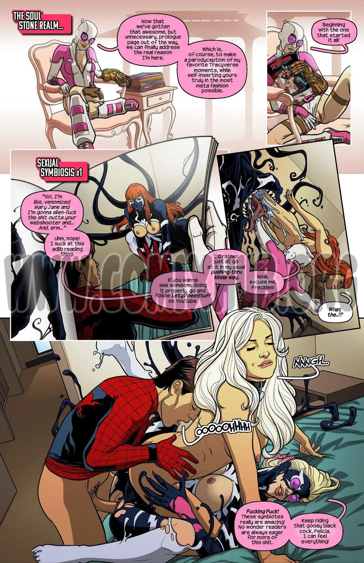 Gwenpool 100 porn comics Oral sex, Anal Sex, Blowjob, cunnilingus, Double Penetration, fingering, Gangbang, Masturbation, Straight, Threesome, X-Ray
