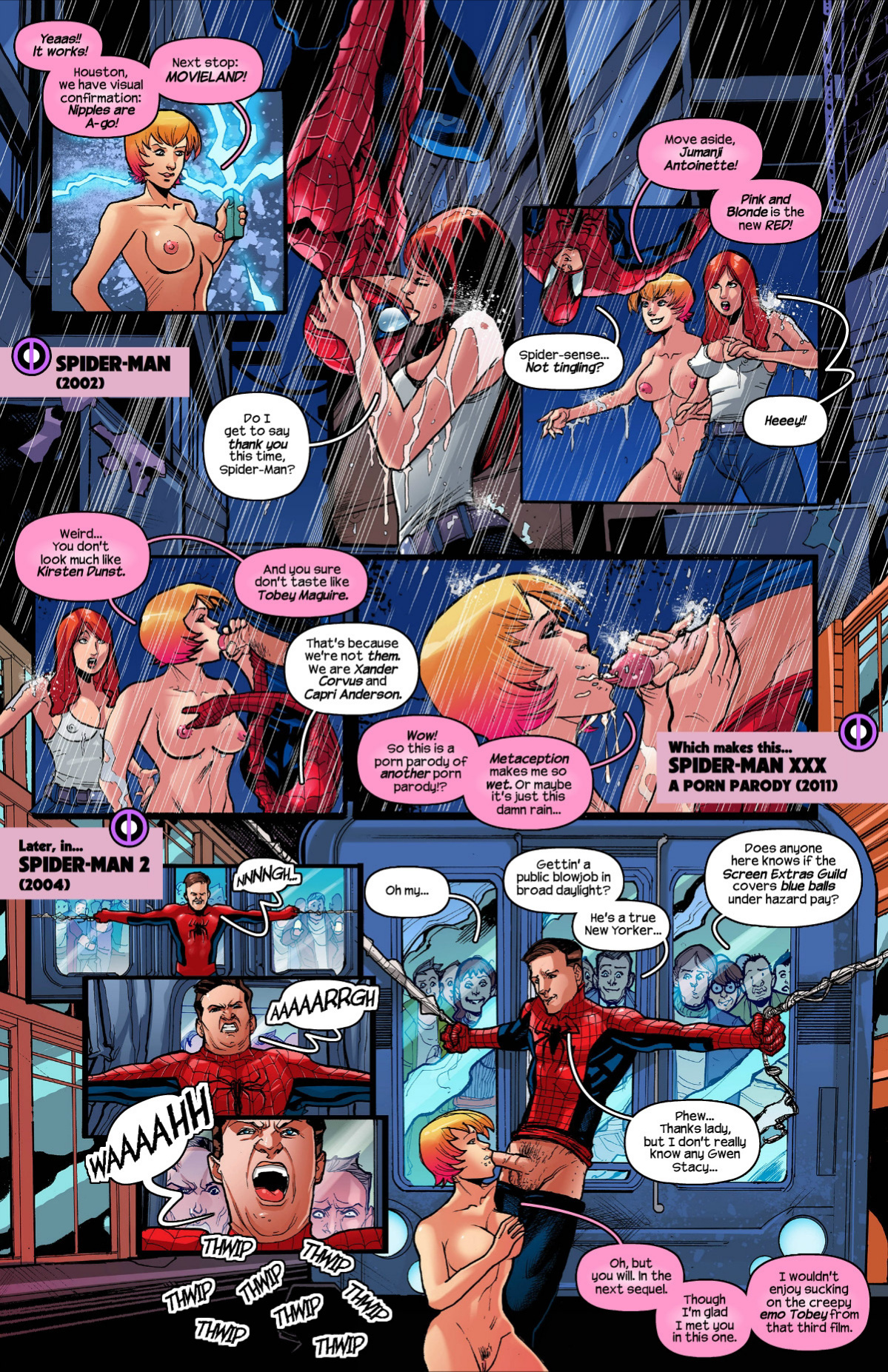 Gwenpool 2 porn comics Oral sex, Lesbians, Masturbation, Sex Toys