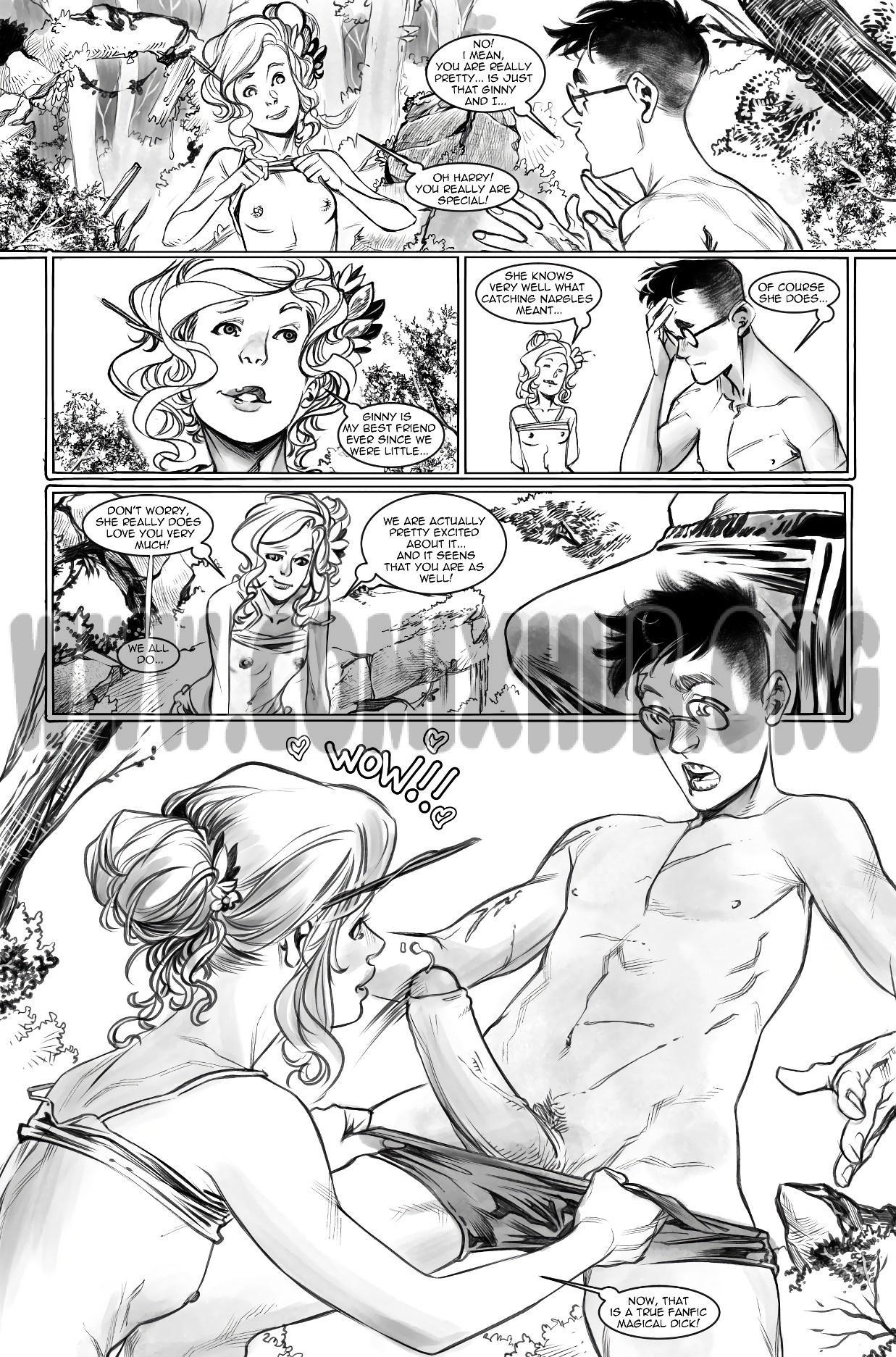 Harry Potter Experience 3: Catching Narggles porn comics Masturbation