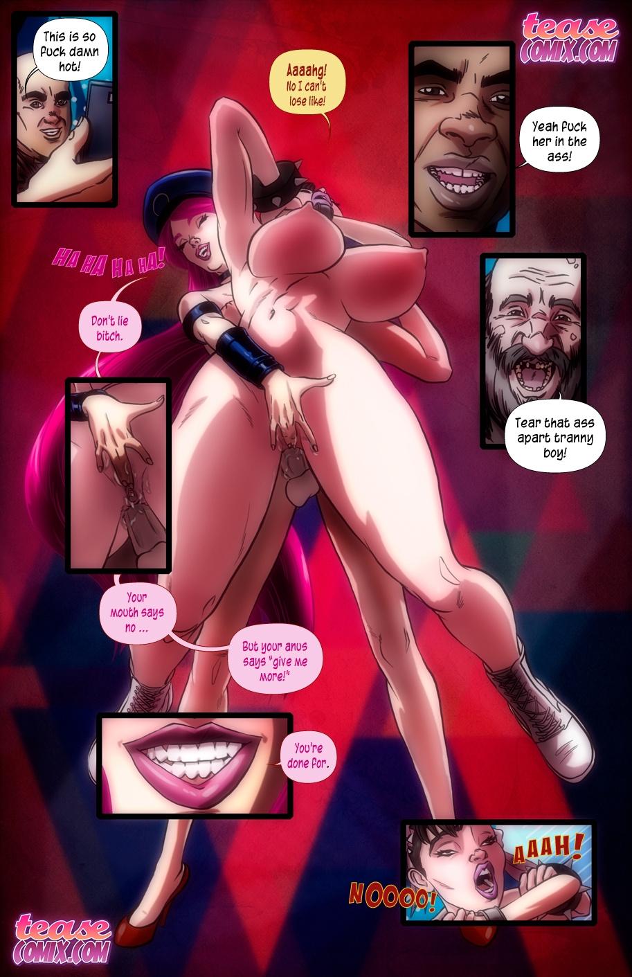 Here Cums A New Challenger porn comics Oral sex, Anal Sex, Futanari, Titfuck