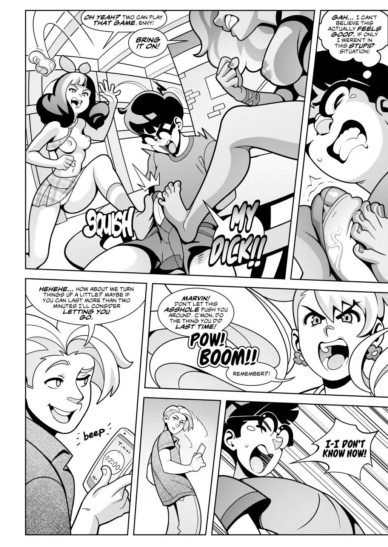 Hot Shit High! 2 porn comics Oral sex, Blowjob, cunnilingus, Femdom, Footjob, Masturbation, Sex Toys, Straight, Threesome