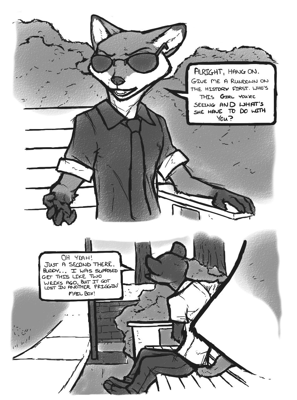 Hybrid Test II porn comics Furry