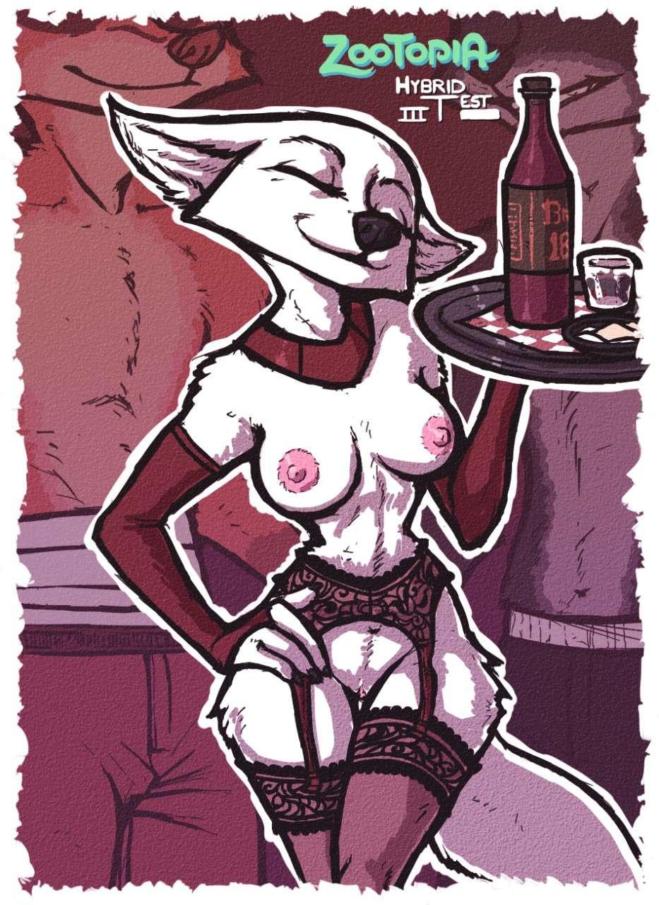 Hybrid Test III porn comics Masturbation, Furry