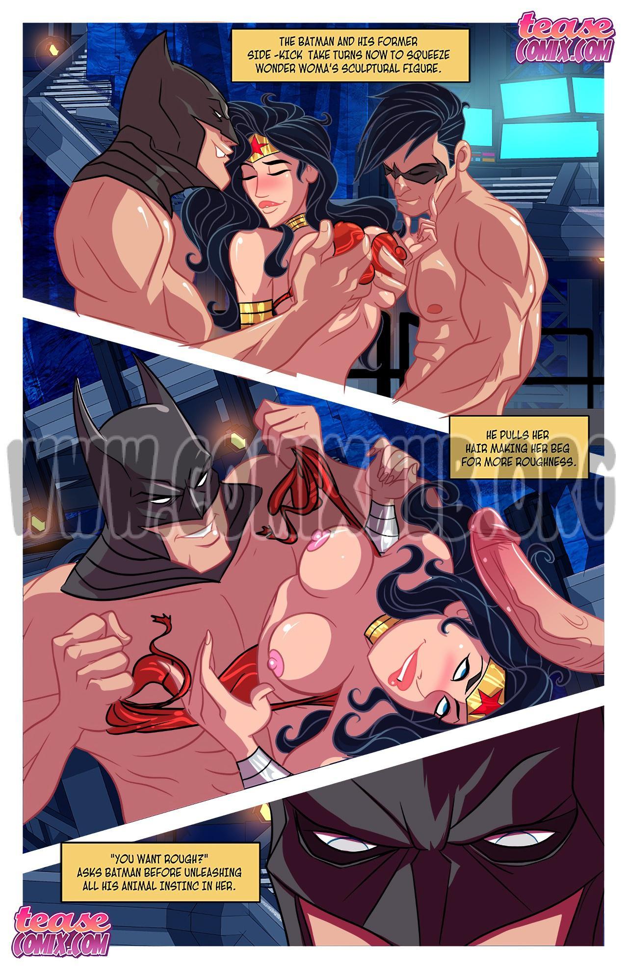 I Want Batcock 2 porn comics Oral sex, Anal Sex, Blowjob, Creampie, cunnilingus, Double Penetration, Masturbation, Stockings, Straight, Threesome