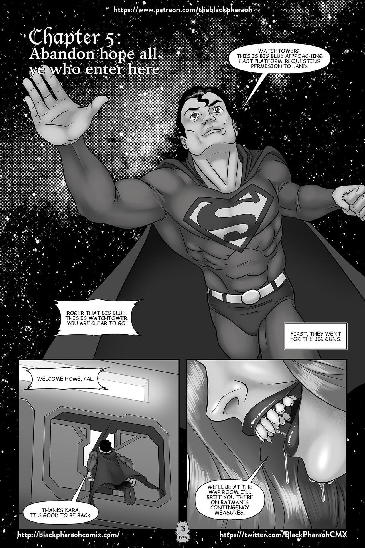 JL Forsaken Souls 5 porn comics Straight, Femdom, Monster Girls, Stockings, Submission, Threesome