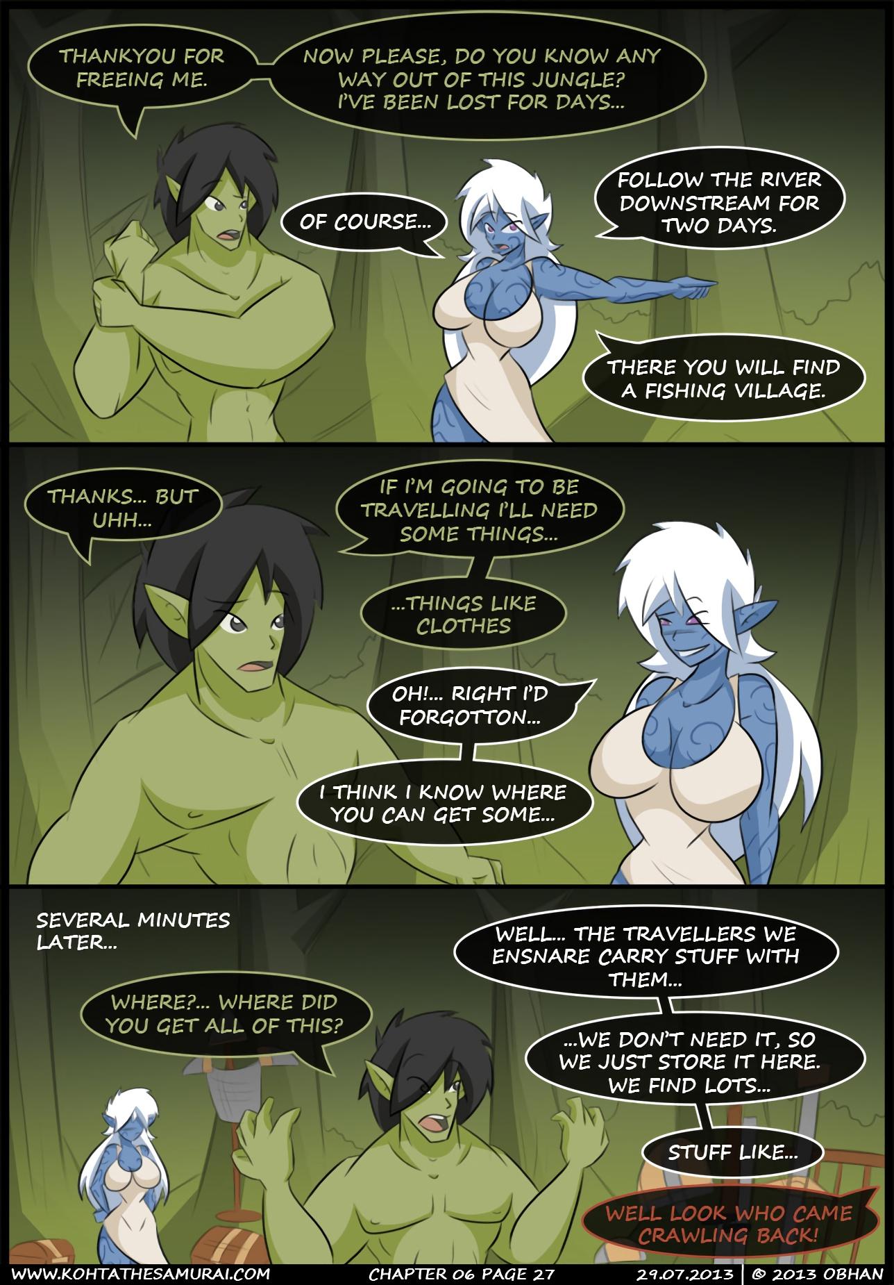 Kohta The Samurai 06-10 porn comics Big Tits, Blowjob, Cum Shots, cunnilingus, Elf, Fantasy, fingering, Group Sex, Lesbians, Masturbation, Oral sex