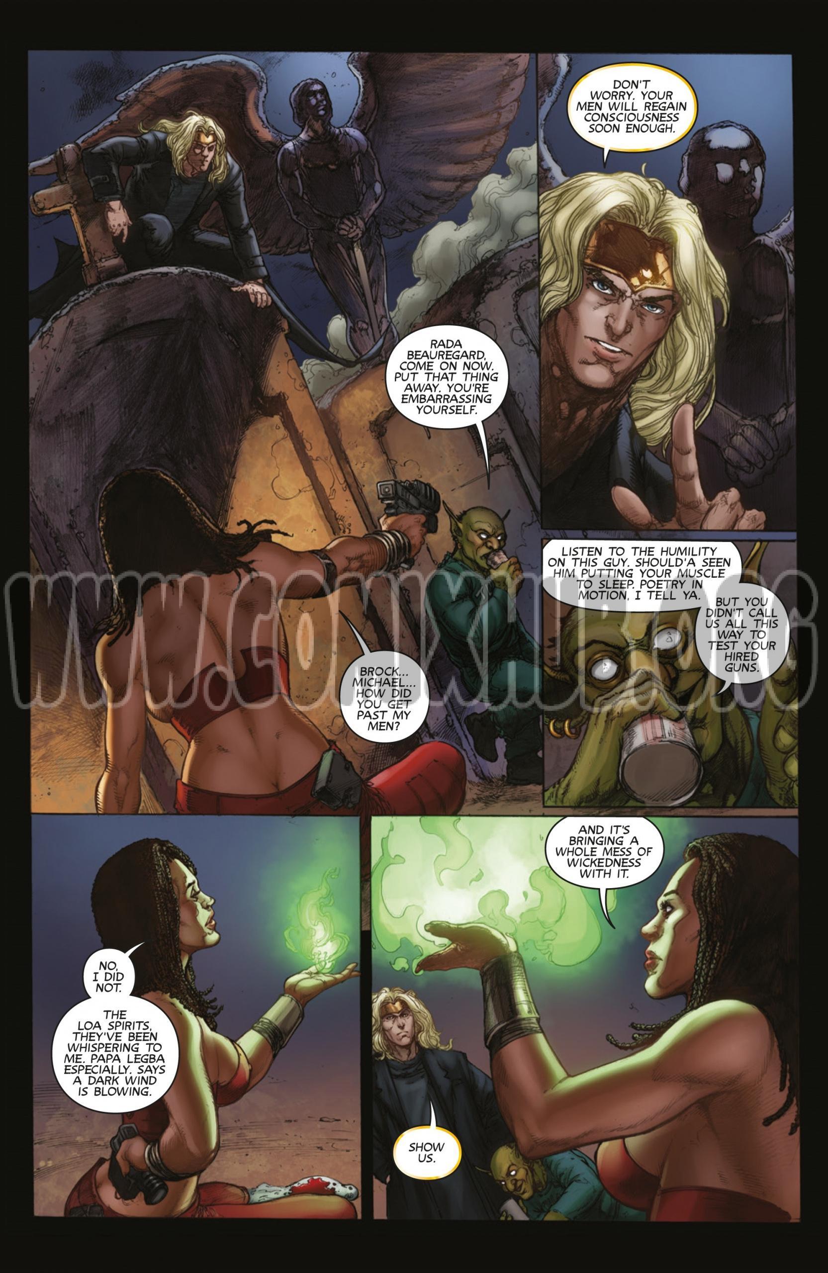 Lady Death Rules! porn comics Straight, Fantasy