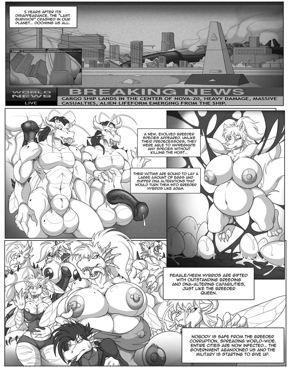 Last Survivor - Episode II porn comics Masturbation, Big Tits, Blowjob, Creampie, Cum Shots, Cum Swallow, Deformed, fingering, Furry, Monster Girls, Pregnant, Straight