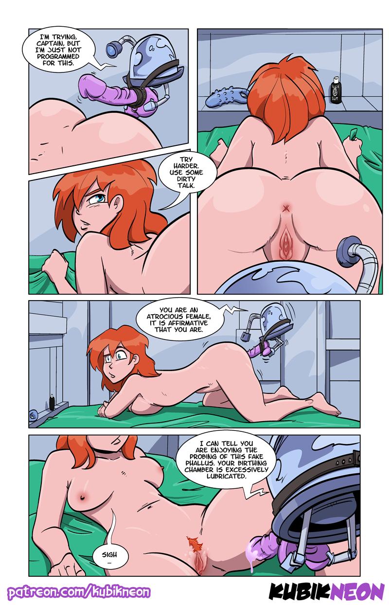 Liandra - Intergalactic Bounty Hunter porn comics Sex Toys, Sci-Fi