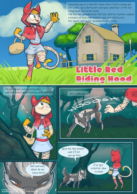 Little Red Riding Hood - Ratcha porn comics Straight, BDSM, Bestiality, Creampie, Furry, Rape, Stockings