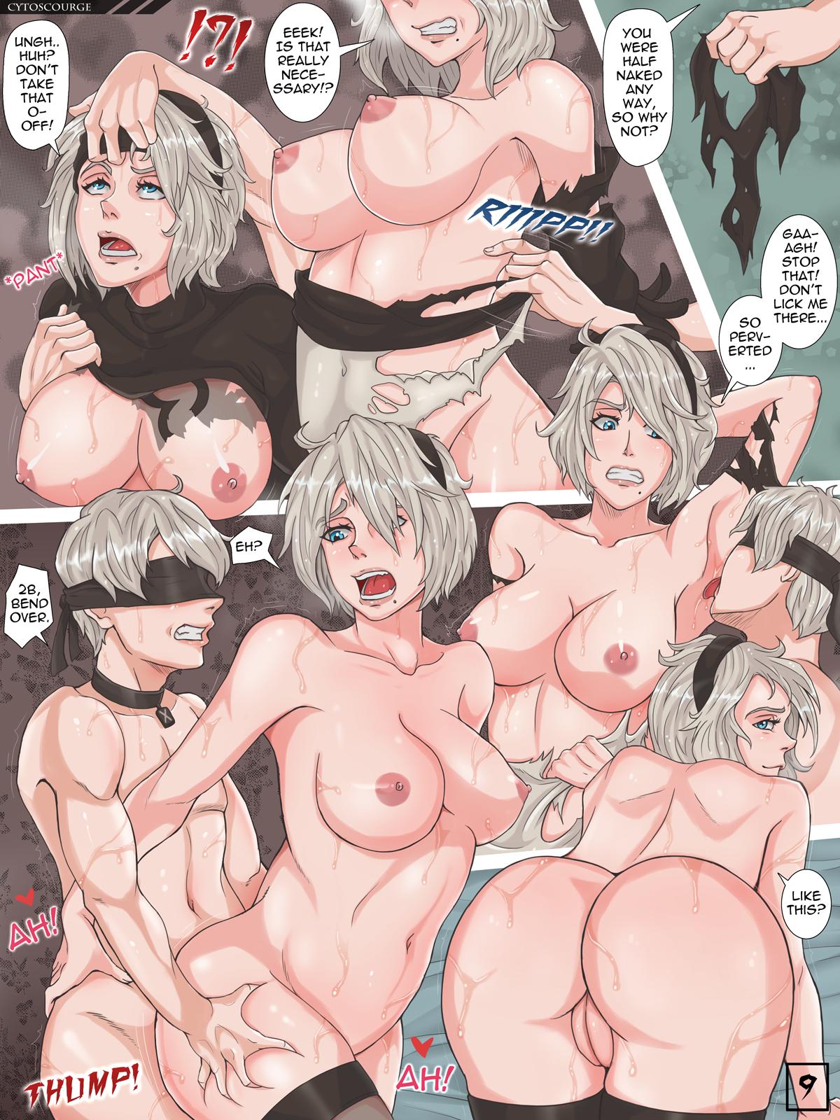 Logic Virus-X porn comics Oral sex, Stockings, Titfuck