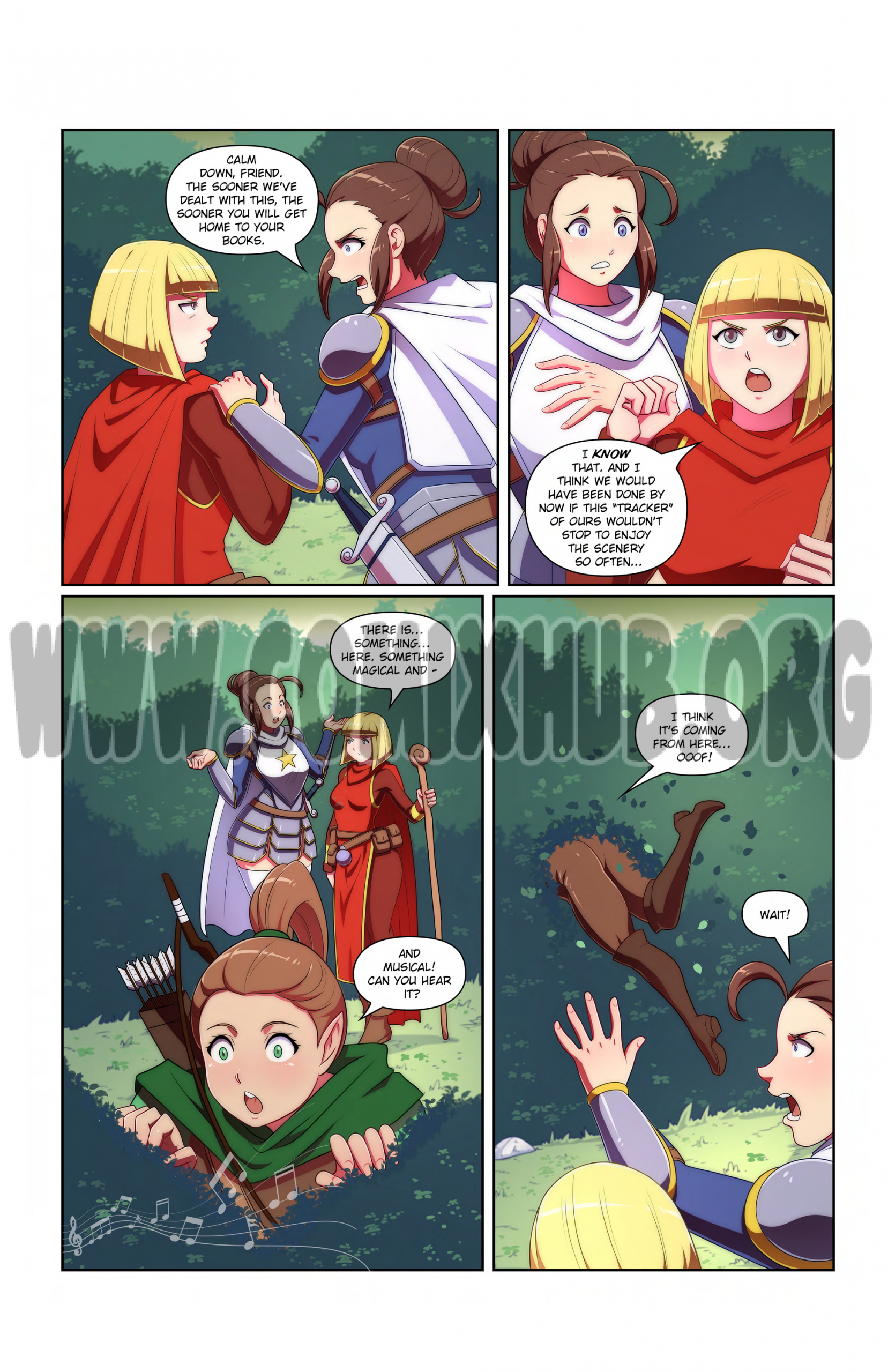 Lost in the Woods porn comics Oral sex, Big Tits, cunnilingus, Fantasy, Monster Girls, Sex and Magic
