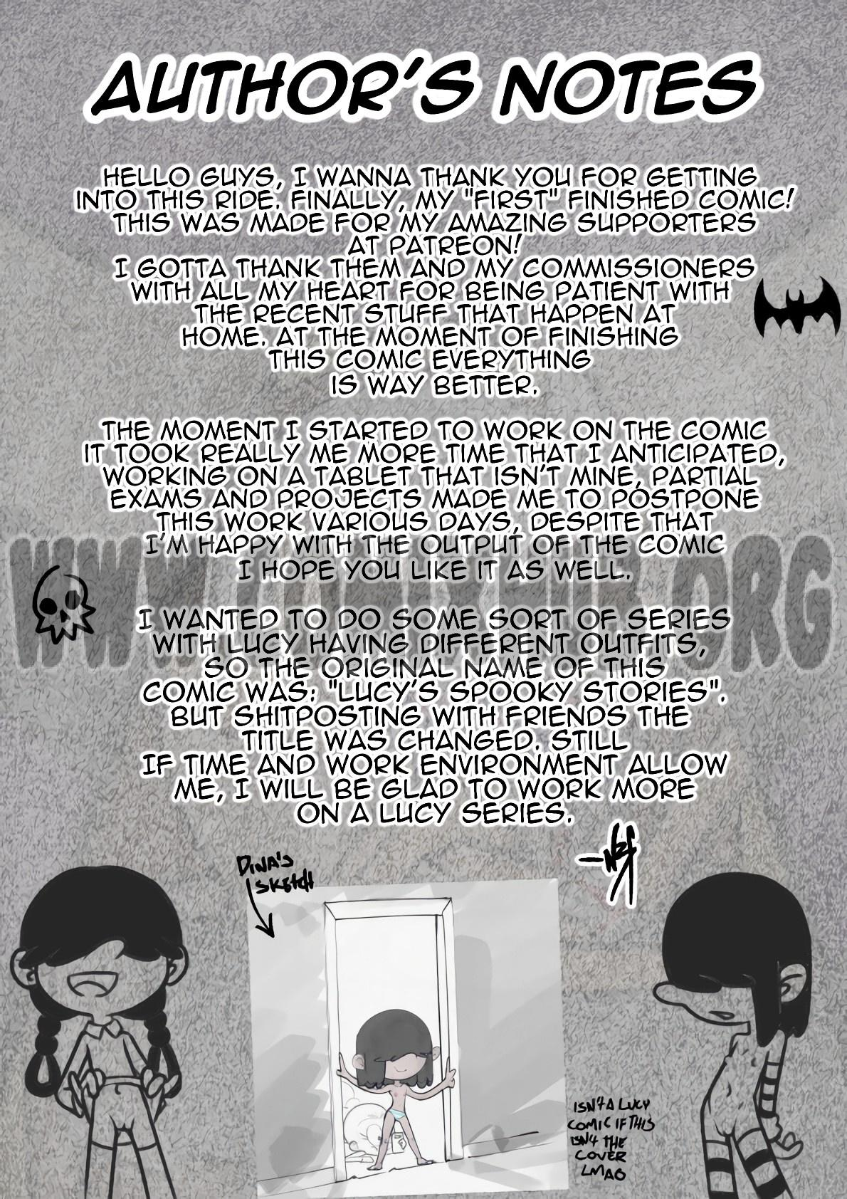 Lucy's Halloween Nightmare porn comics Oral sex, Blowjob, Cosplay, Cum Shots, Cum Swallow, incest, Lolicon, Stockings, Straight, X-Ray