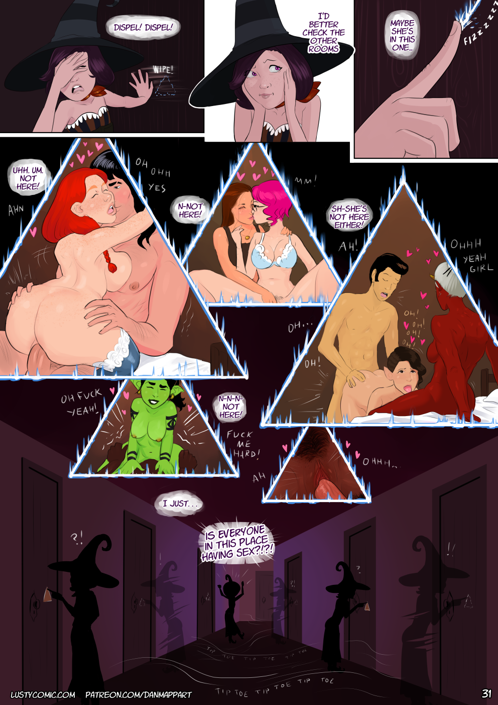 Lusty in Fantastic Breasts and Where to Find Them porn comics Oral sex, Big Tits, cunnilingus, Elf, Fantasy, fingering, Group Sex, Hardcore, Lesbians, Monster Girls, Sex and Magic, Stockings, Straight, Threesome