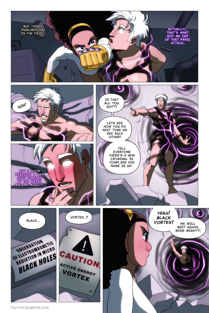 Madame Mighty porn comics Stockings
