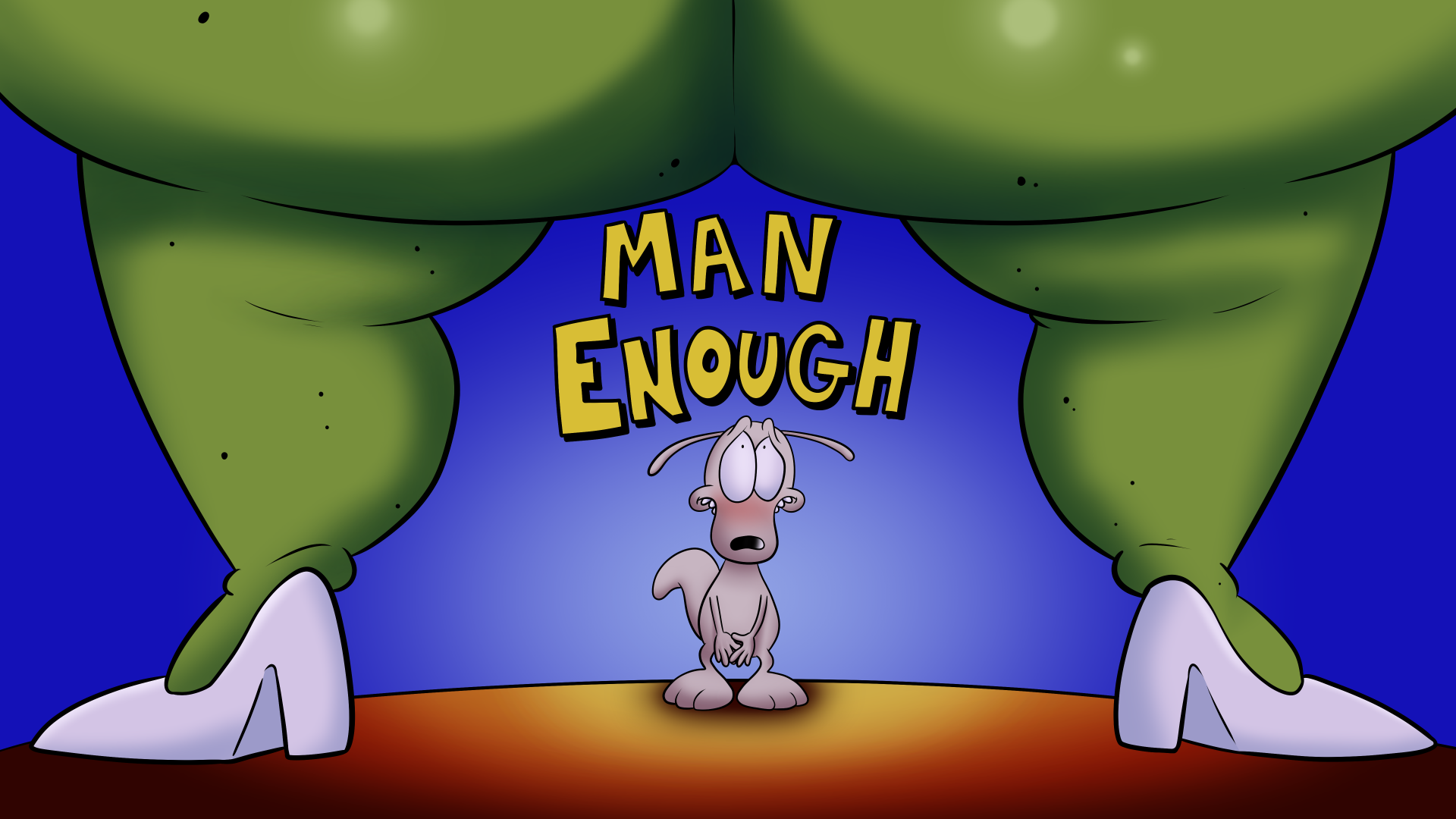 Man Enough porn comics Oral sex, Anal Sex, Blowjob, Creampie, cunnilingus, Straight