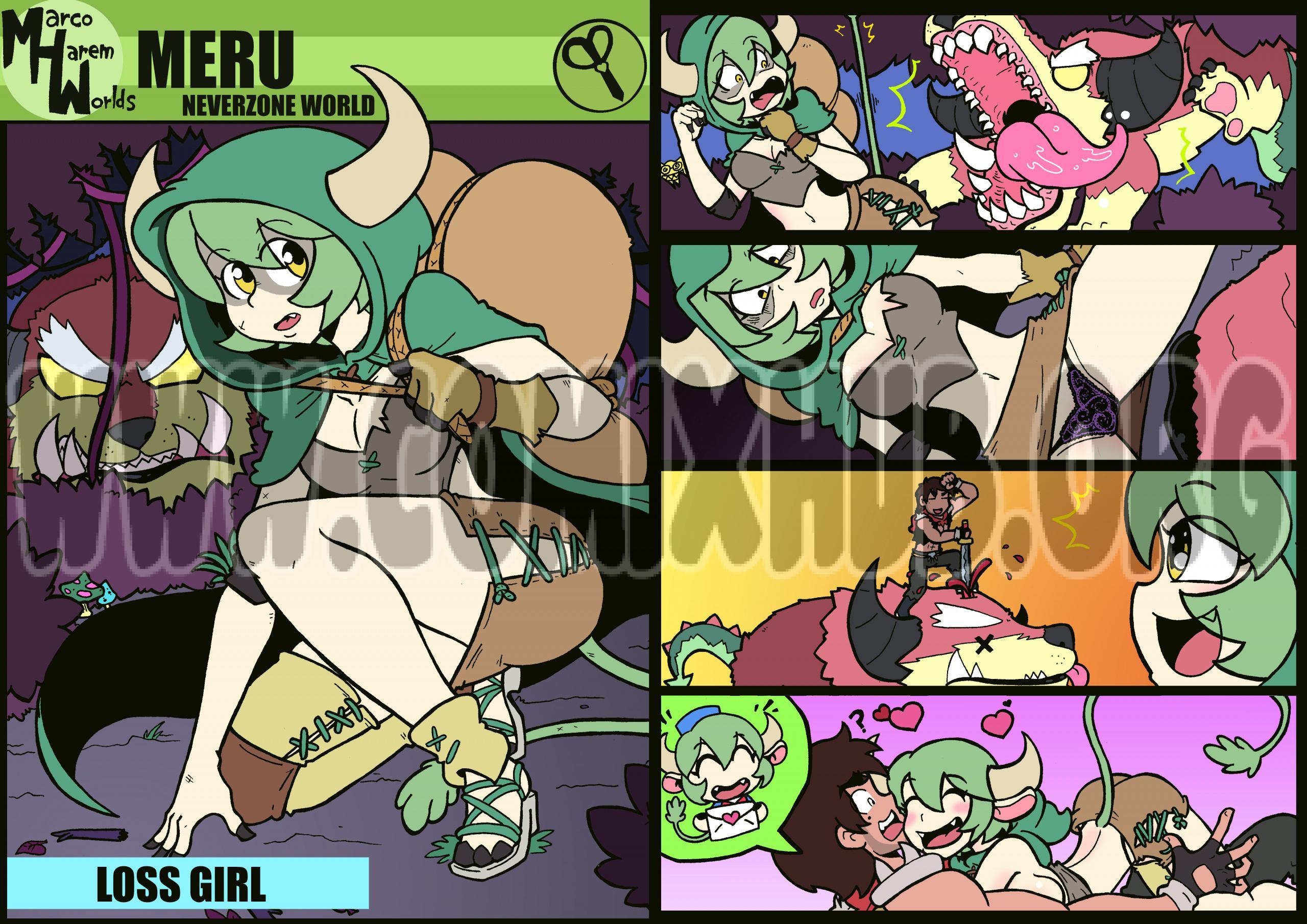 Marco Harem Worlds Monster Girls, Cosplay