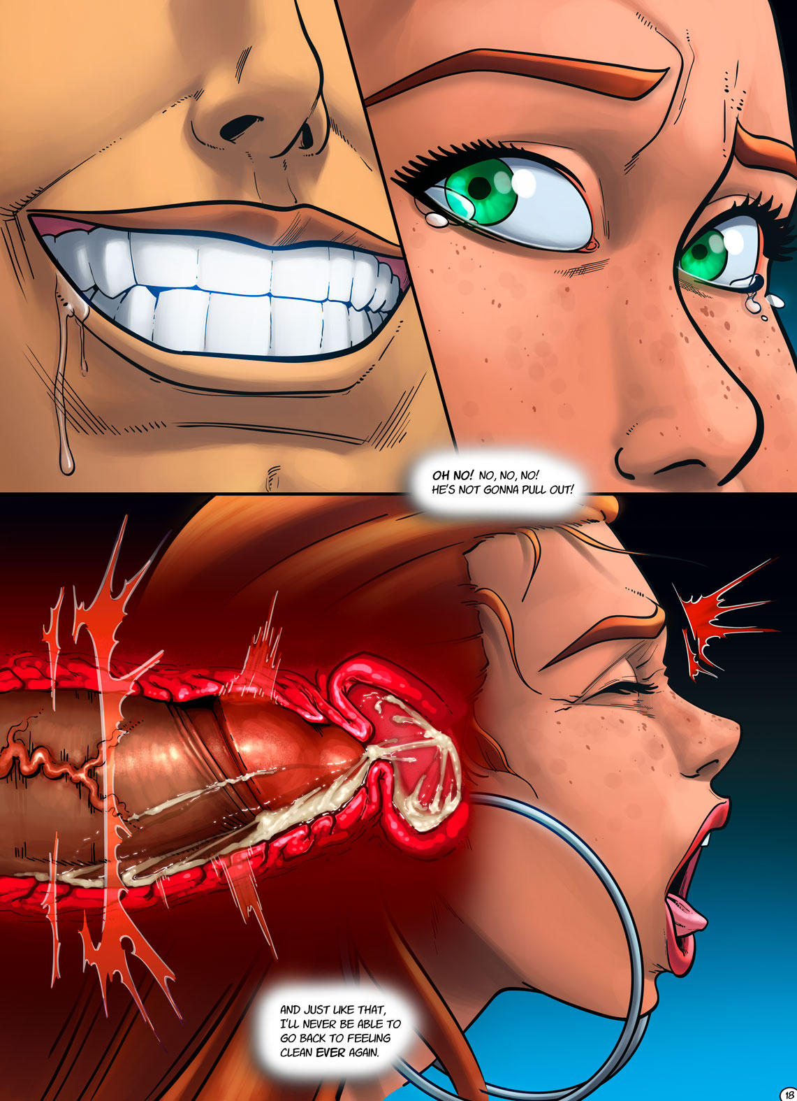 Mary Jane - Break Your Vows porn comics Oral sex, Bikini, Blowjob, Creampie, Cum Swallow, Deepthroat, Straight, X-Ray