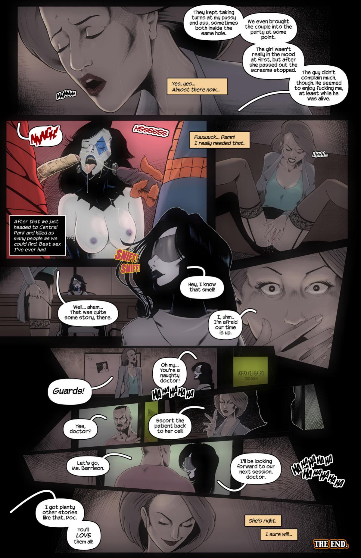 MAXIMUM CARNAGE porn comics Oral sex, Anal Sex, Double Penetration, Group Sex, Masturbation