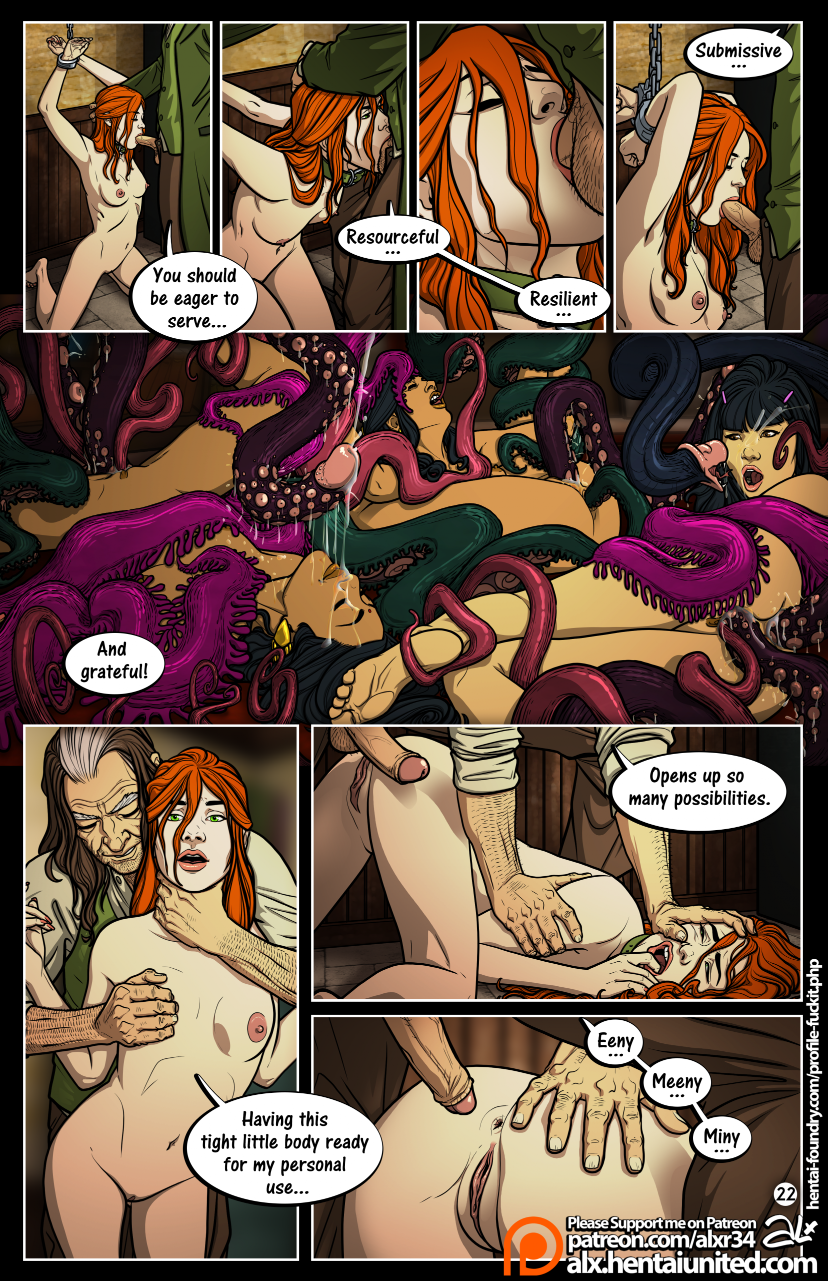 Meanwhile in Hogwarts: Truth or Dare porn comics Oral sex, Anal Sex, Blowjob, cunnilingus, Domination, fingering, Group Sex, Lesbians, Masturbation, Sex and Magic, Straight, Tentacles