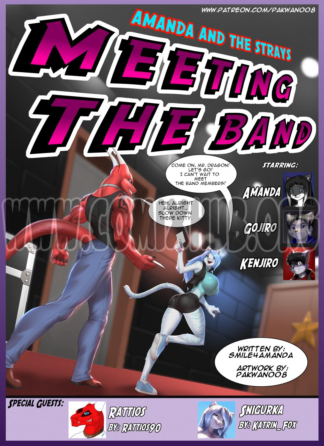 Meeting the Band Oral sex, Anal Sex, Big Tits, Blowjob, Cum Shots, Cum Swallow, Double Penetration, Furry, Group Sex, Straight, Threesome, X-Ray
