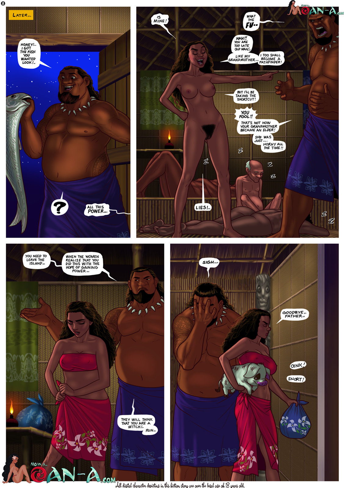 Moan-a - Moan Challenge porn comics Oral sex, Anal Sex, Double Penetration, Group Sex, Masturbation, Titfuck
