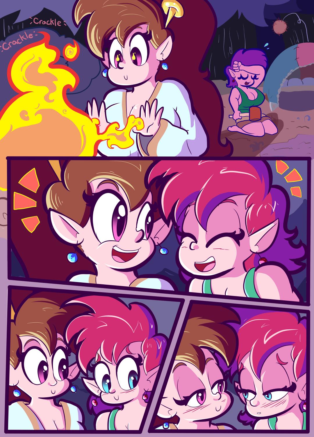 Moonlight Moth Magic porn comics Lesbians, Monster Girls, Sex and Magic
