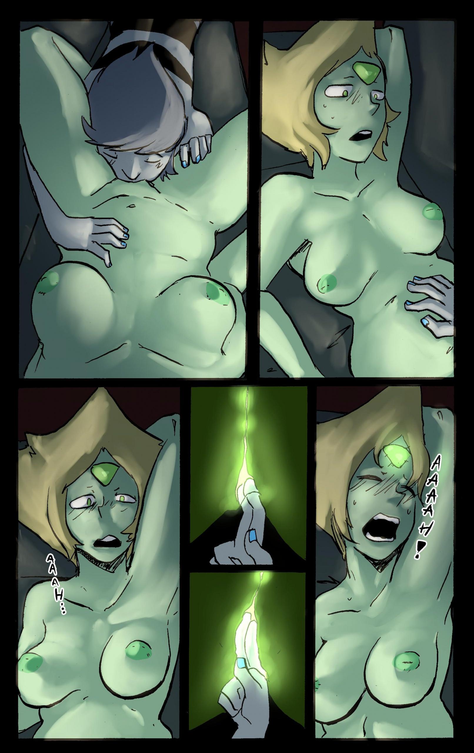Movie Night - Steaven Universe porn comics Oral sex, Aliens, Lesbians