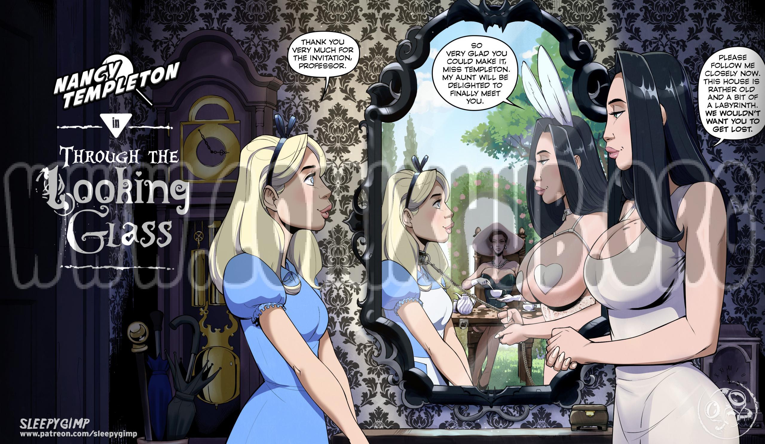 Nancy Templeton - Through the Looking Glass porn comics Oral sex, BDSM, Lesbians, Masturbation, Sex Toys, Tentacles