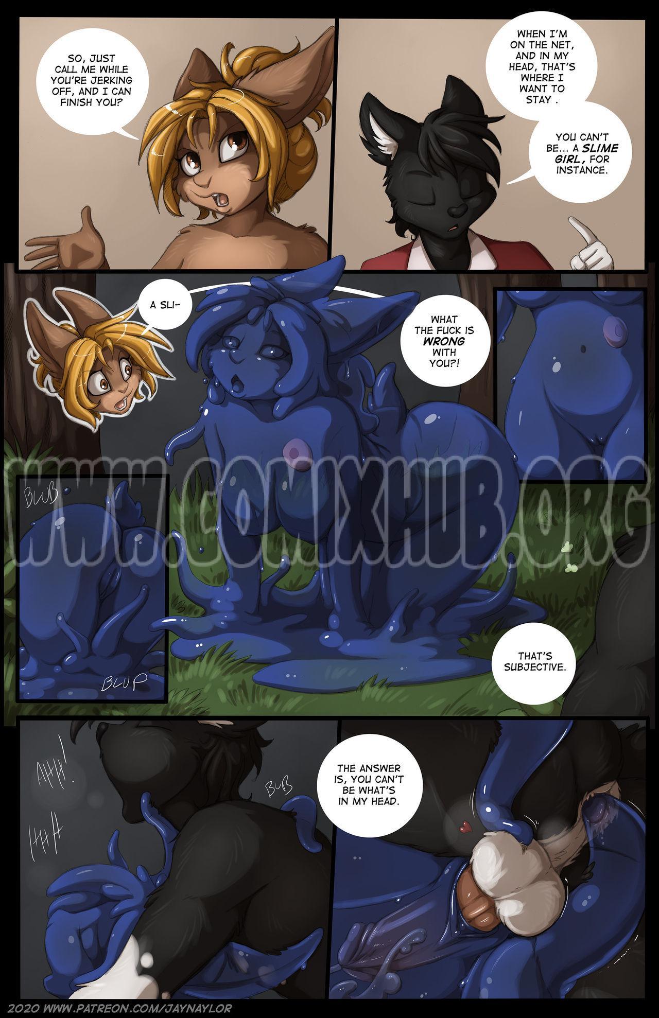 Online porn comics Masturbation, Furry