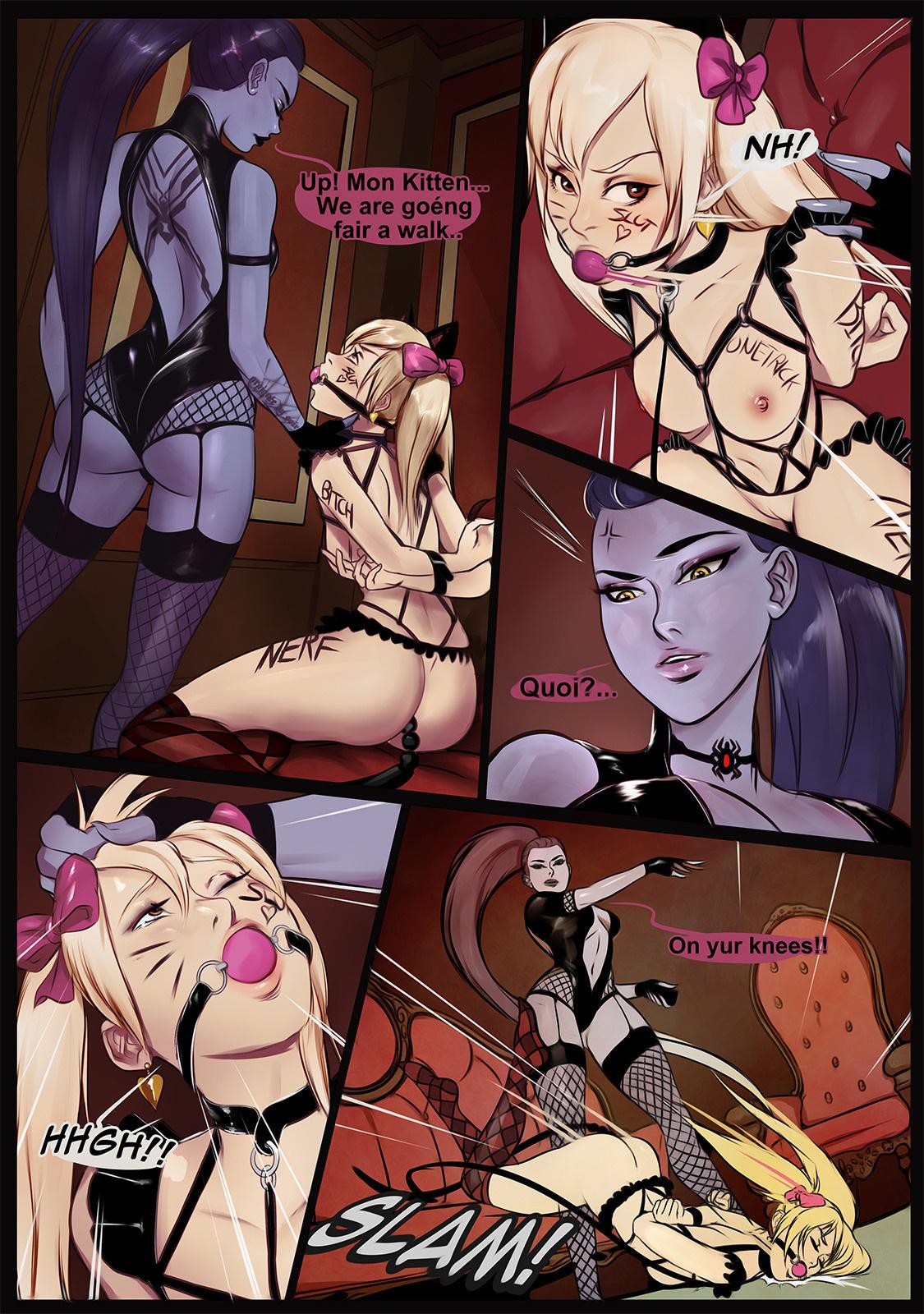 Overwatch BdsmMaker porn comics BDSM, Lesbians, Sex Toys