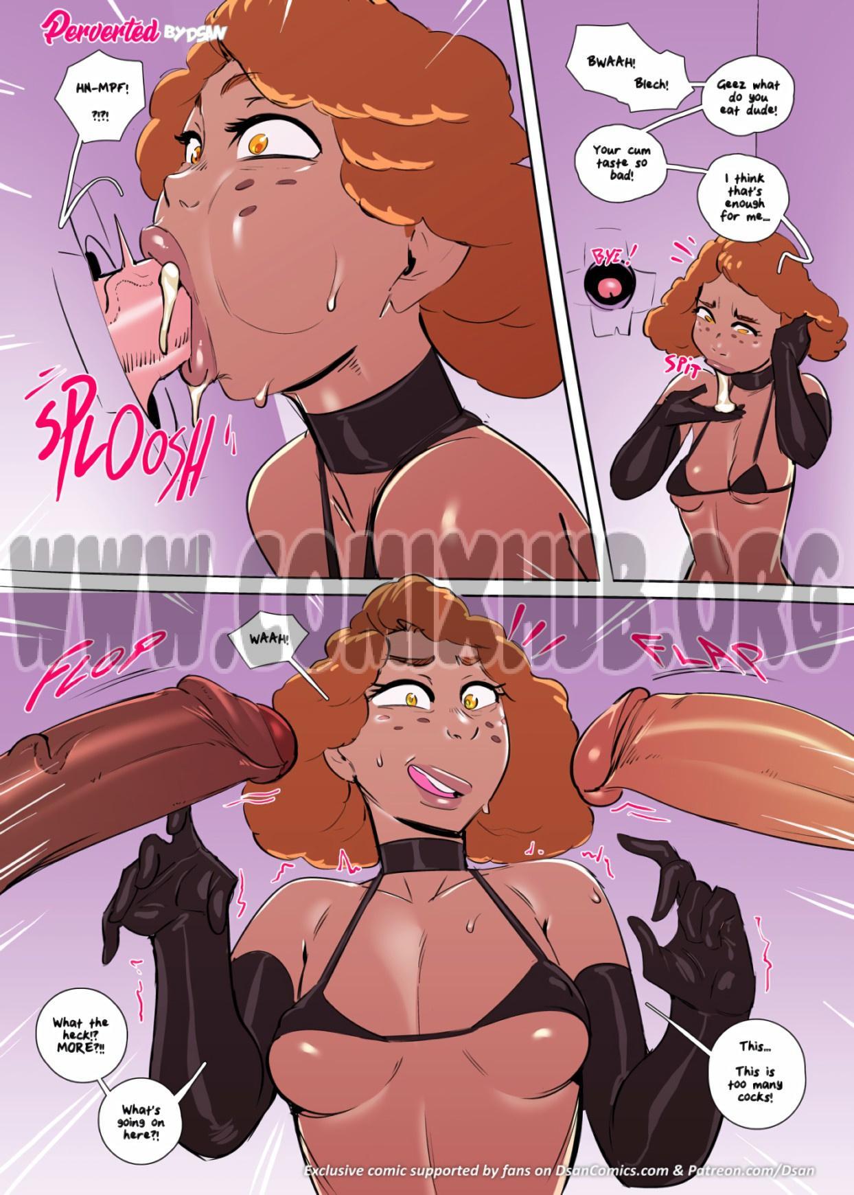 Perverted porn comics Oral sex, Anal Sex, Blowjob, Creampie, Cum Swallow, Deepthroat, Double Penetration, Gangbang, Latex, Masturbation, Stockings, Straight, Threesome, X-Ray