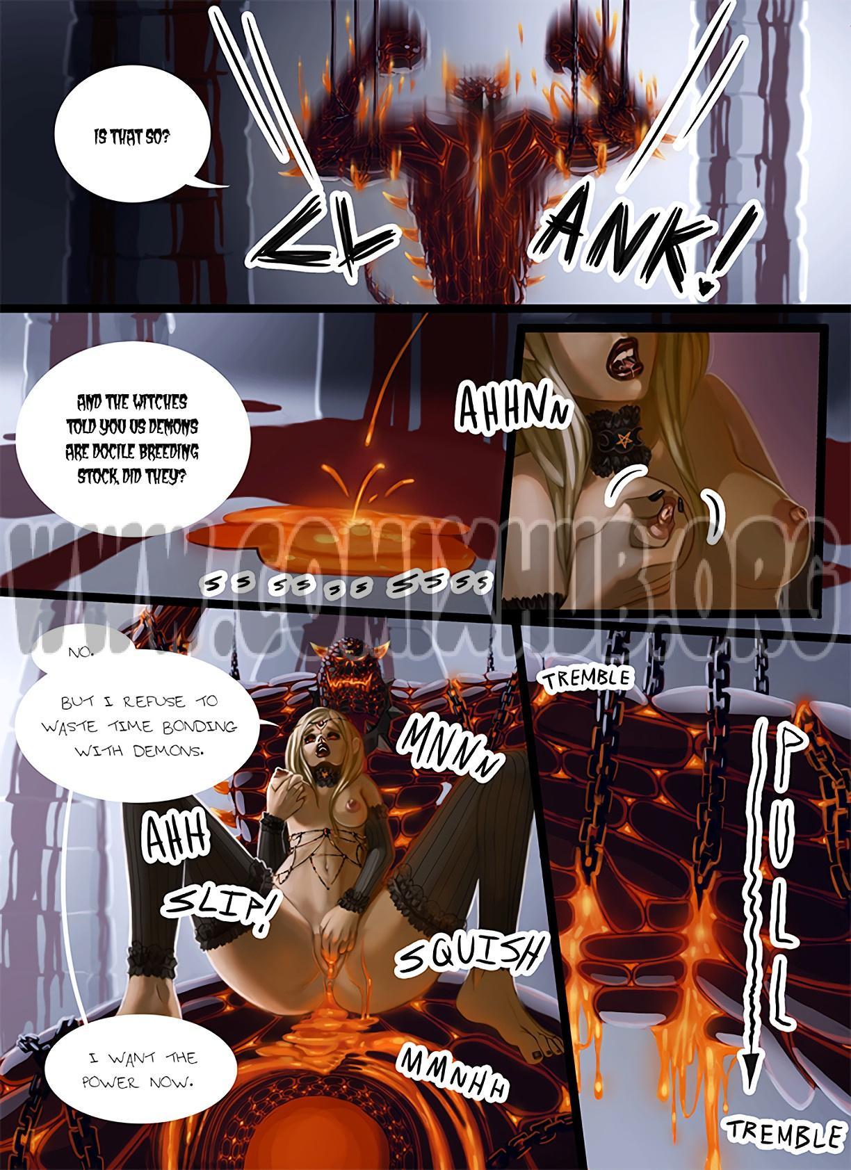 Riling the Beast porn comics Masturbation, Creampie, Fantasy, Straight