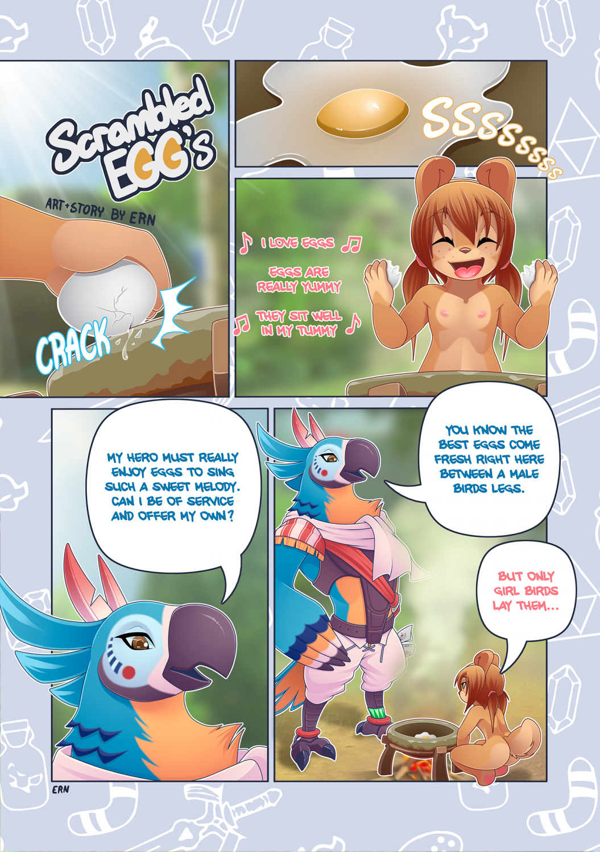 Scrambled Eggs porn comics Blowjob, Cum Shots, Furry, Lolicon, Oral sex, Straight