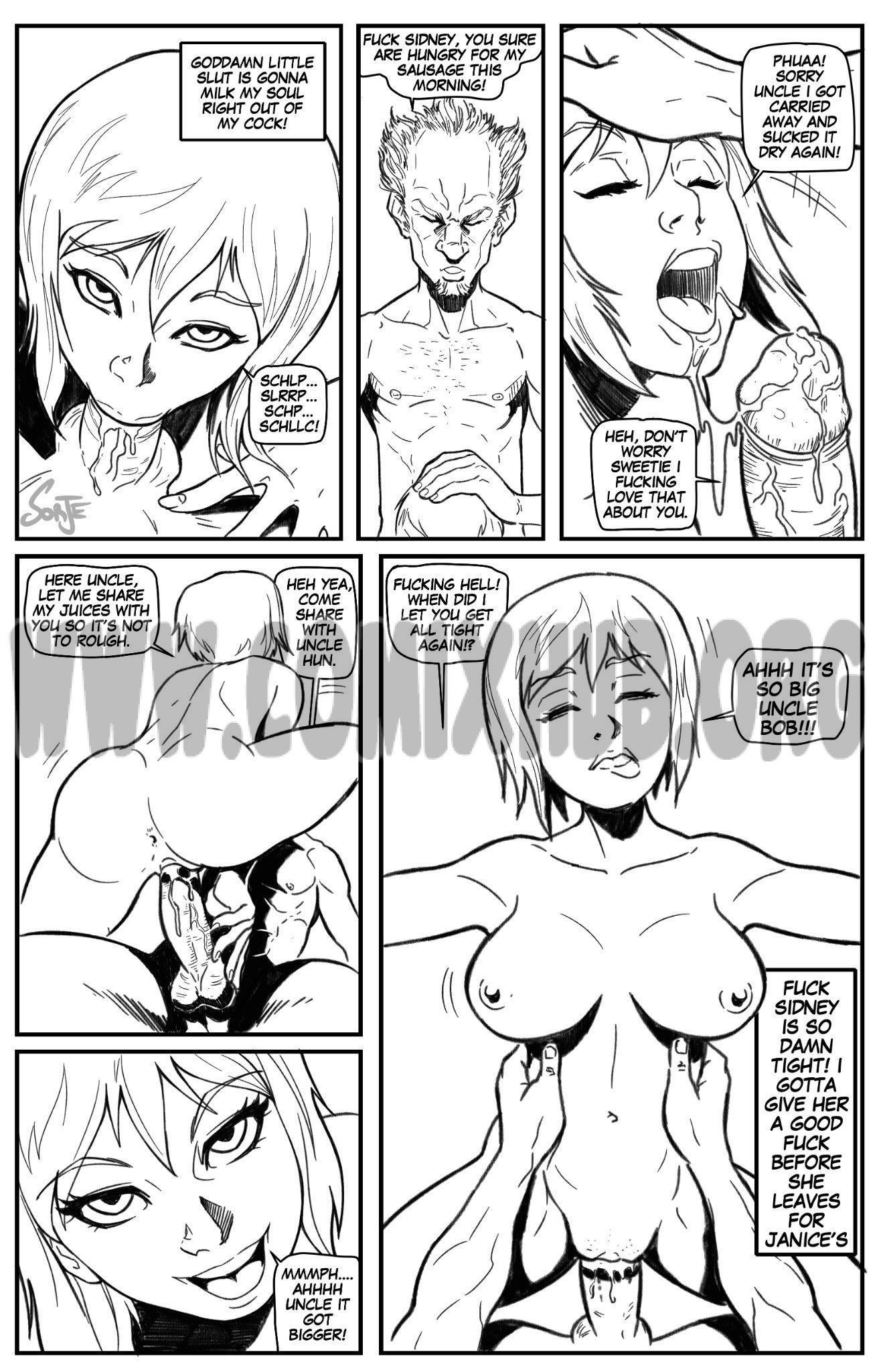 Sidney Fun In The Sun porn comics Oral sex, Blowjob, Creampie, Cum Shots, Cum Swallow, cunnilingus, Straight, Titfuck