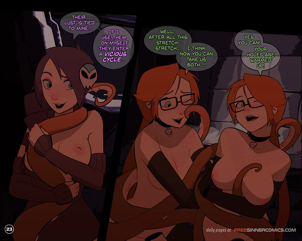 Silly Twins vs Zone porn comics Anal Sex, Double Penetration, Futanari, incest, Lesbians, Tentacles