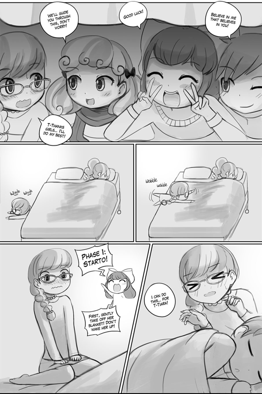 Silver Spooning porn comics Lesbians, Lolicon