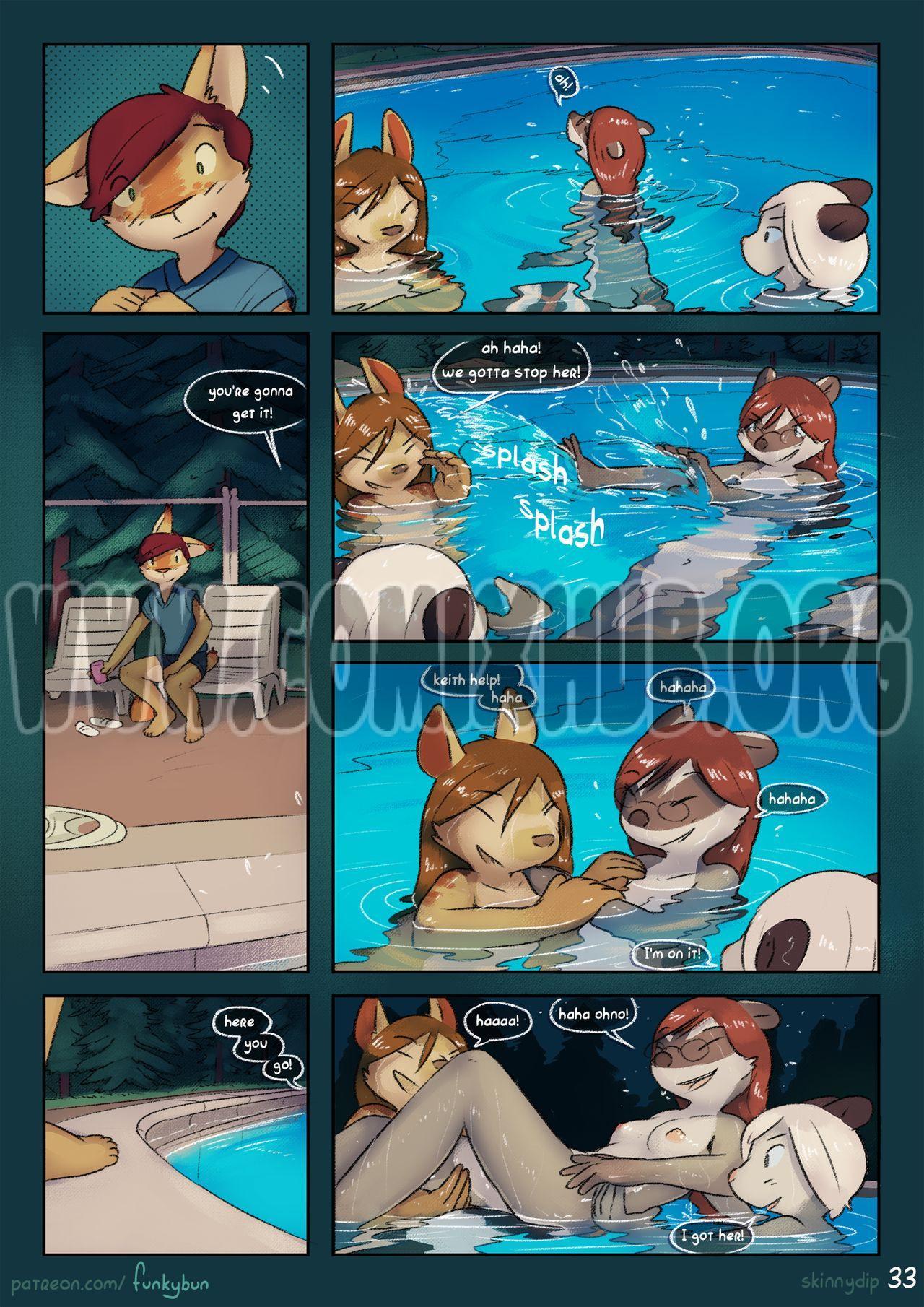 Skinny dip porn comics Furry