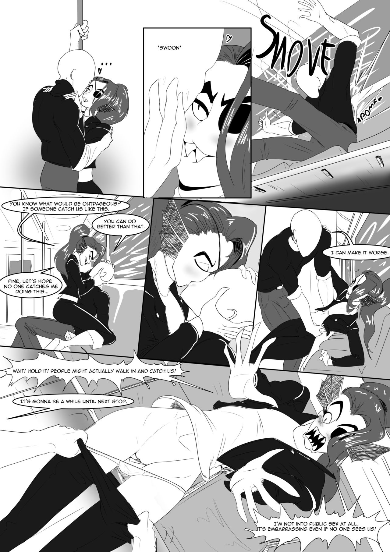 Spear of Just Us 2 - Battle Against a True Nympho porn comics Oral sex, Anal Sex, Cosplay, Monster Girls, Stockings