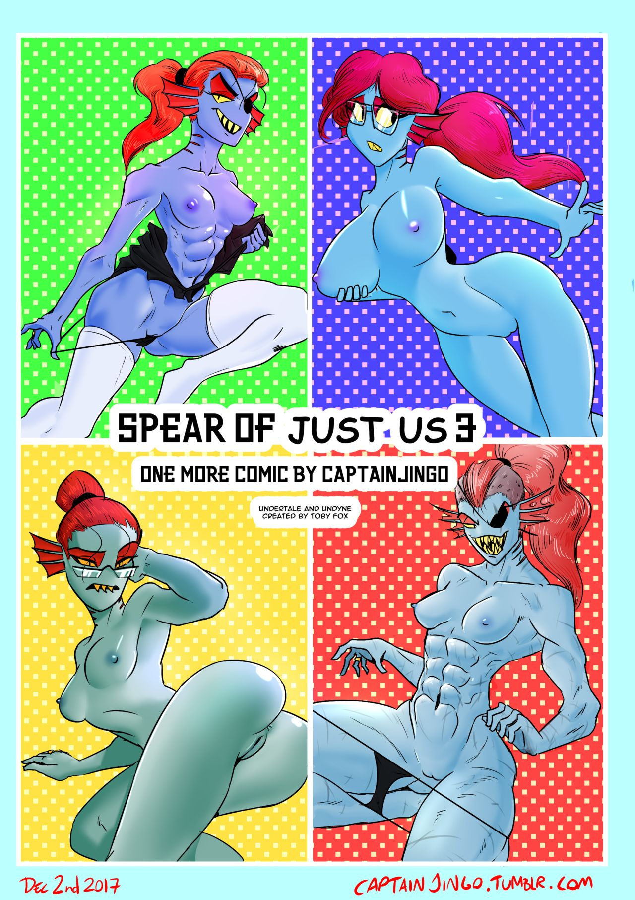 Spear of Just Us 3 porn comics Anal Sex, Monster Girls, Stockings