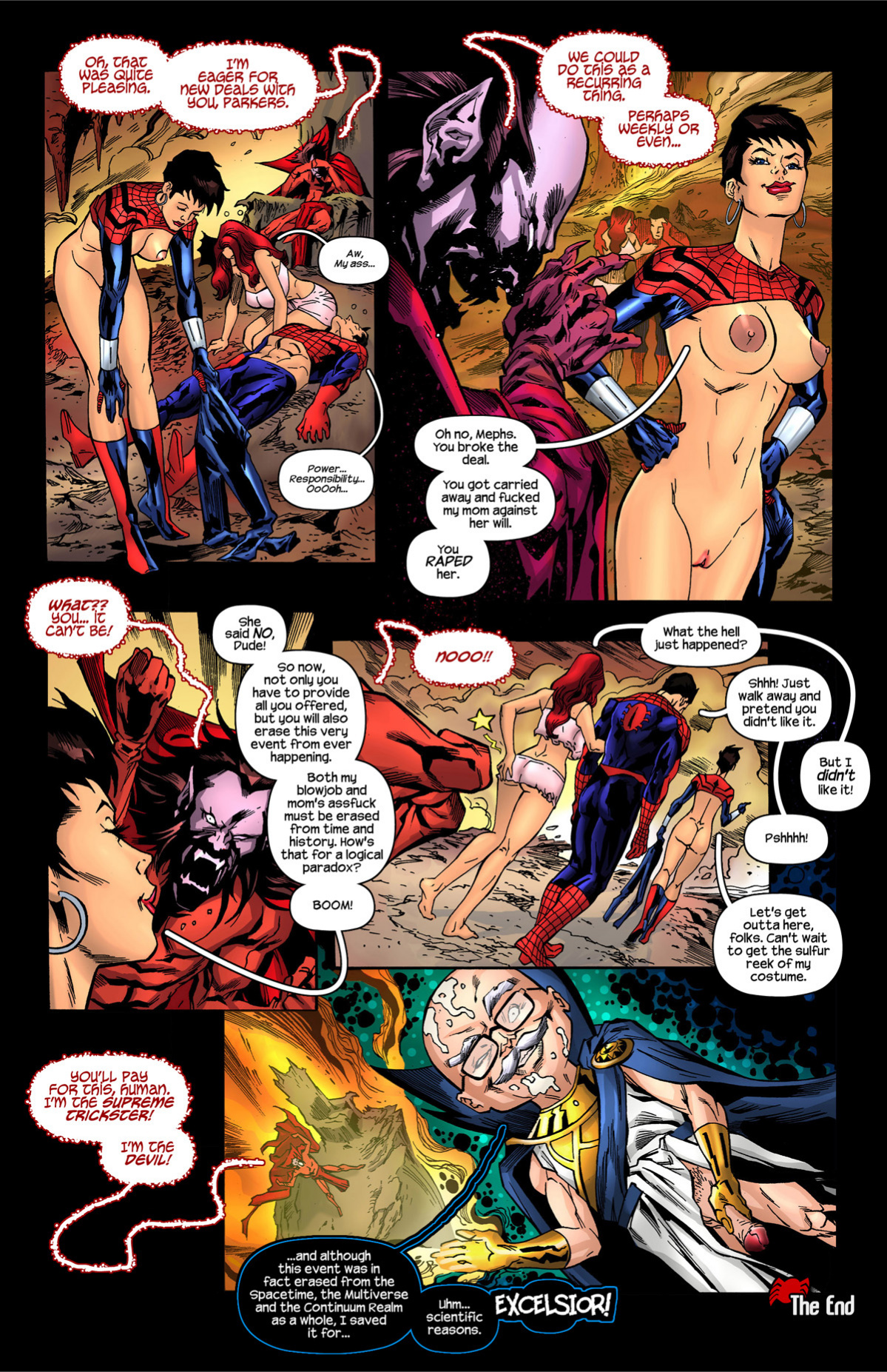 Spider-Girl One more Day porn comics Oral sex