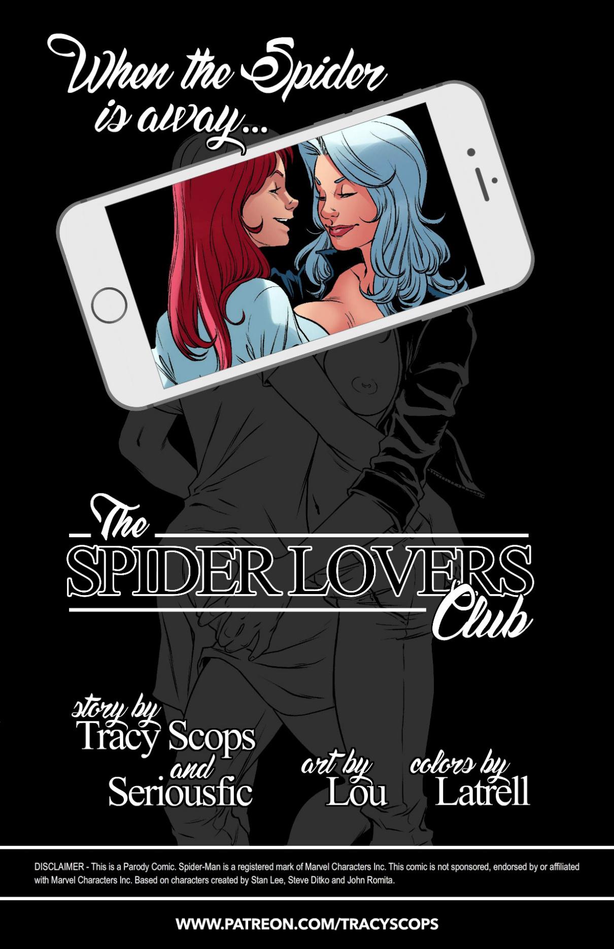 SPIDER LOVERS CLUB porn comics Oral sex, Lesbians