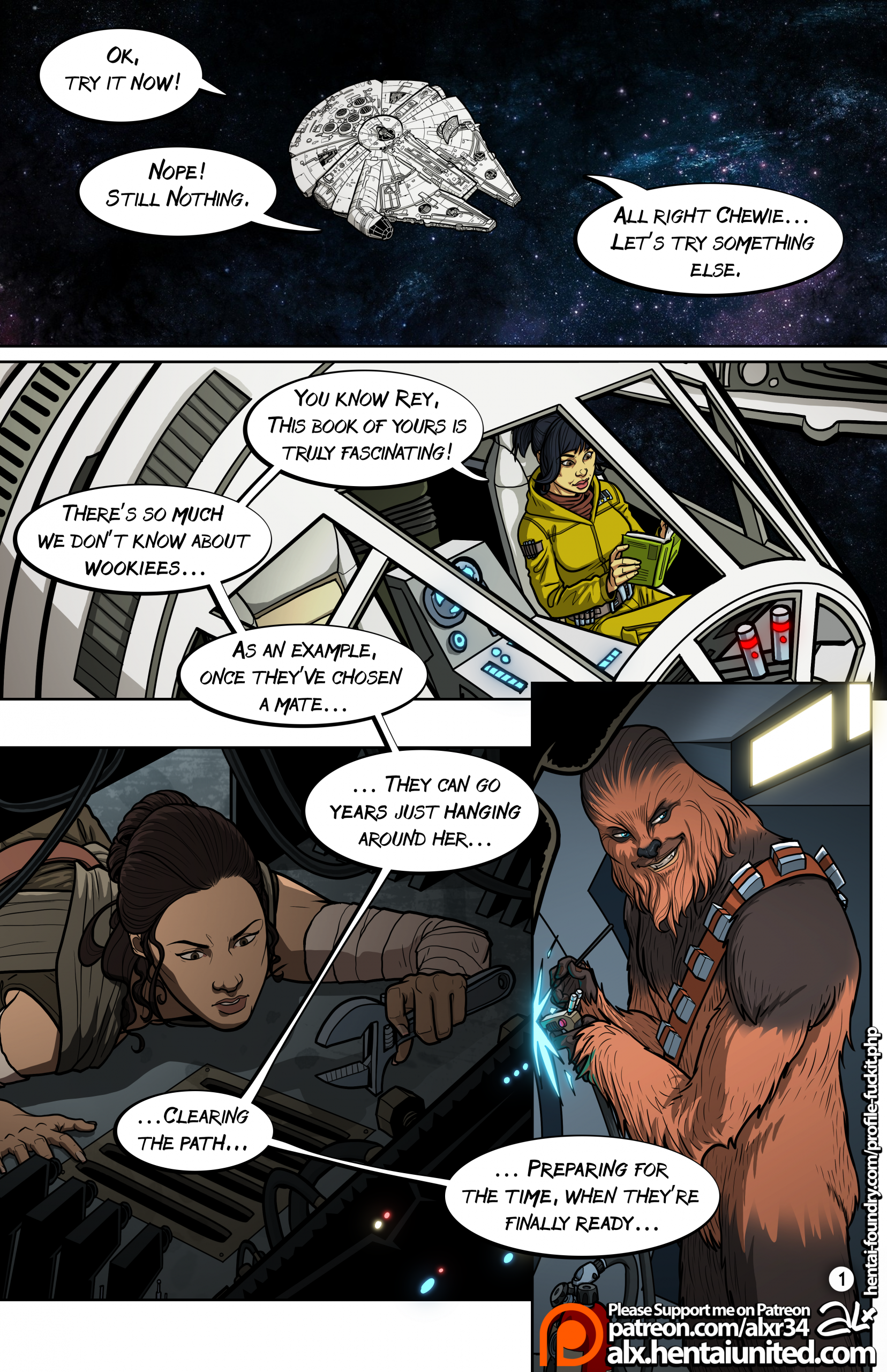 Star Wars: A Complete Guide to Wookie Sex porn comics Oral sex, Aliens, Anal Sex, Masturbation