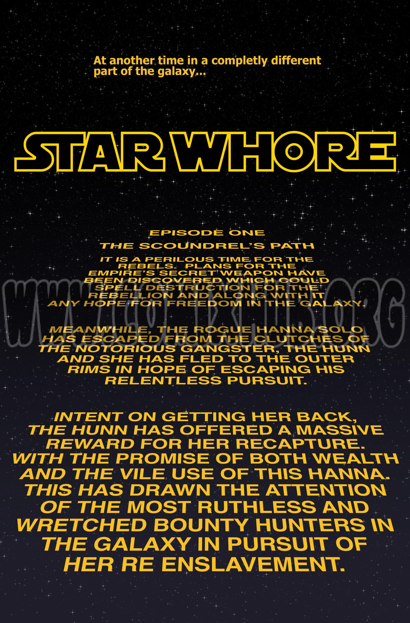 Star Whore: Hanna Solo porn comics Oral sex, Anal Sex, Blowjob, Creampie, Double Penetration, Sci-Fi, Sex Toys, Straight