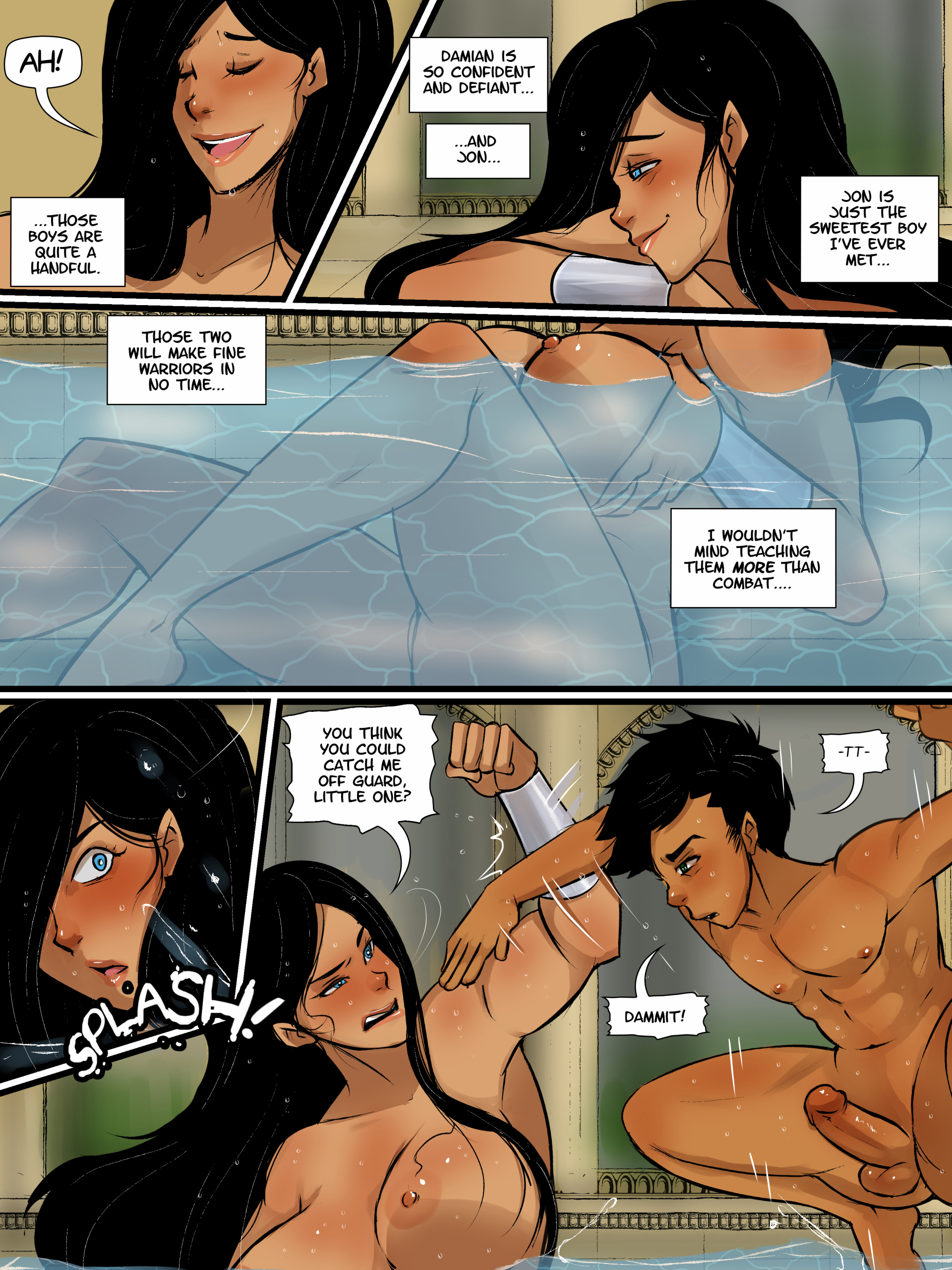 Super Sons 2 porn comics Oral sex, Anal Sex, BDSM, Big Tits, Blowjob, Bondage, Creampie, Deepthroat, Domination, Double Penetration, Group Sex, Straight, Straight Shota, Submission, Threesome, X-Ray
