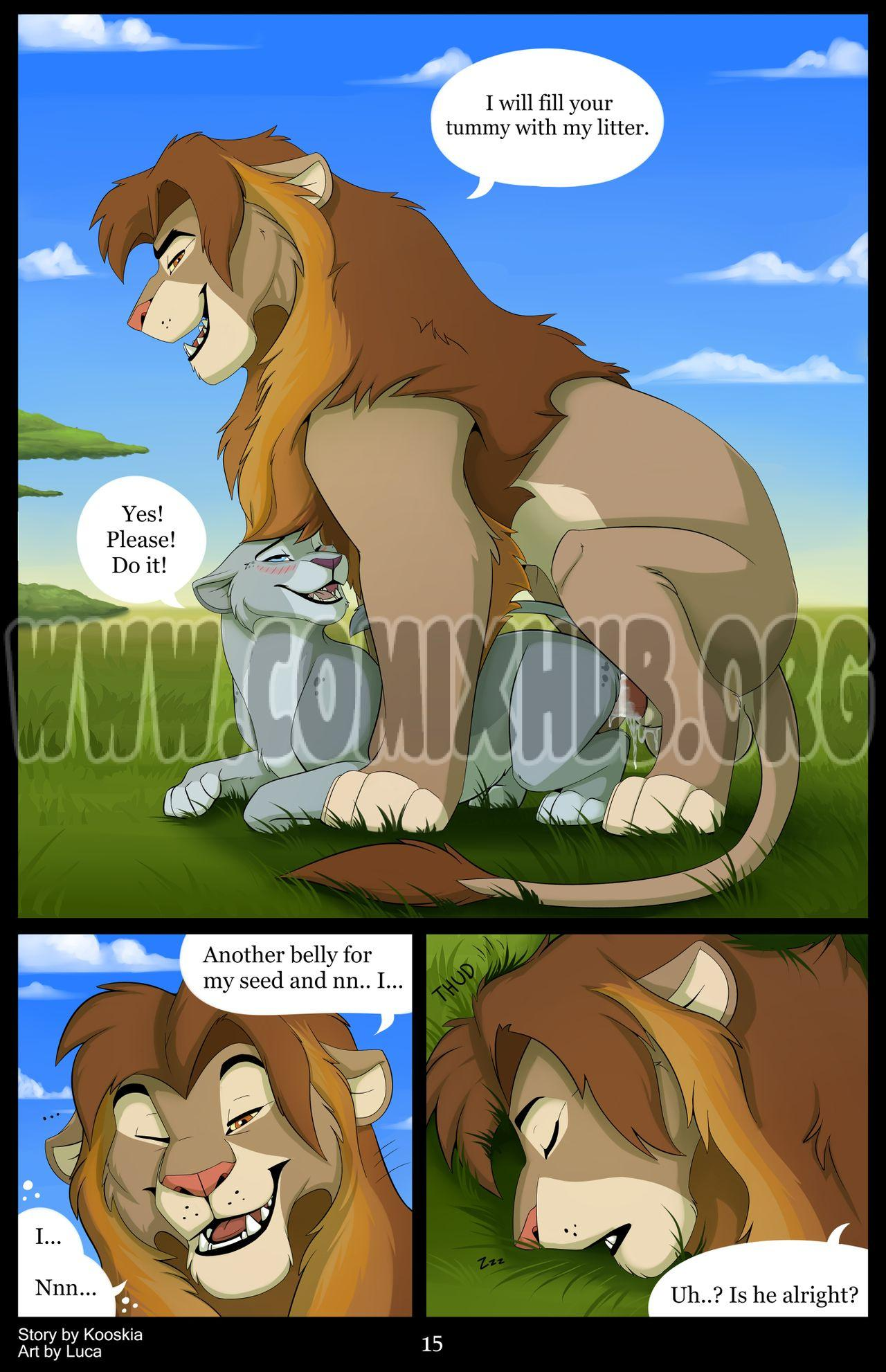 The Blessing of a Pride porn comics Oral sex, Bestiality, Creampie, cunnilingus, Straight