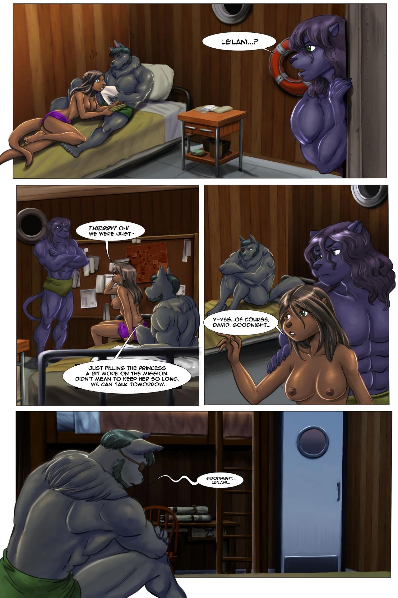 The Depths porn comics Oral sex, Blowjob, cunnilingus, Furry, Masturbation, Straight, Titfuck