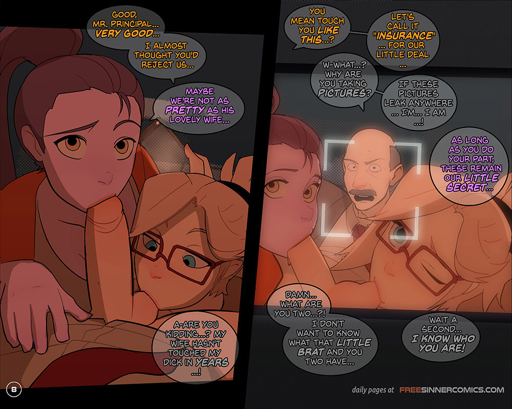 The Girly Watch 5 porn comics Oral sex, Anal Sex, Group Sex, Sex Toys